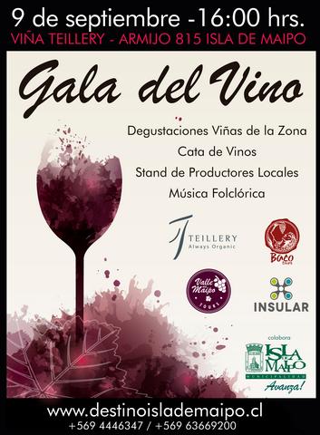 Gala del Vino de Isla de Maipo 2017