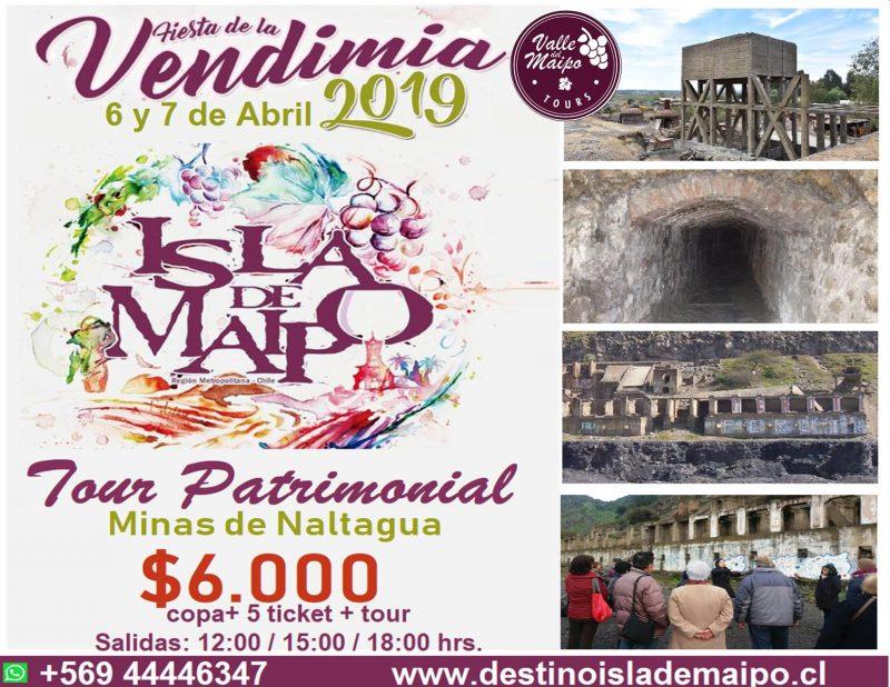 Tour Patrimonial y Full Day ~ Fiesta de la Vendimia 2019