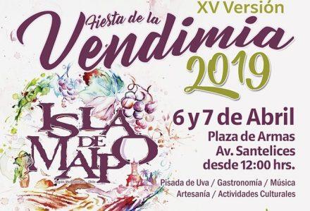 Programación Fiesta de la Vendimia 2019 en Isla de Maipo